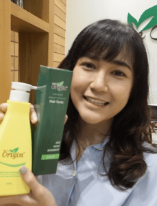Bought the Purity Scalp Shampoo and Japan Scalp Tonic from Bee Choo!